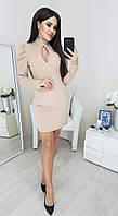 Облегающие модное женское платье (Норма)