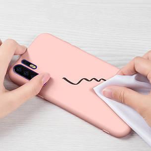 Силиконовый чехол SLIM на Meizu 16X  Nude, фото 2