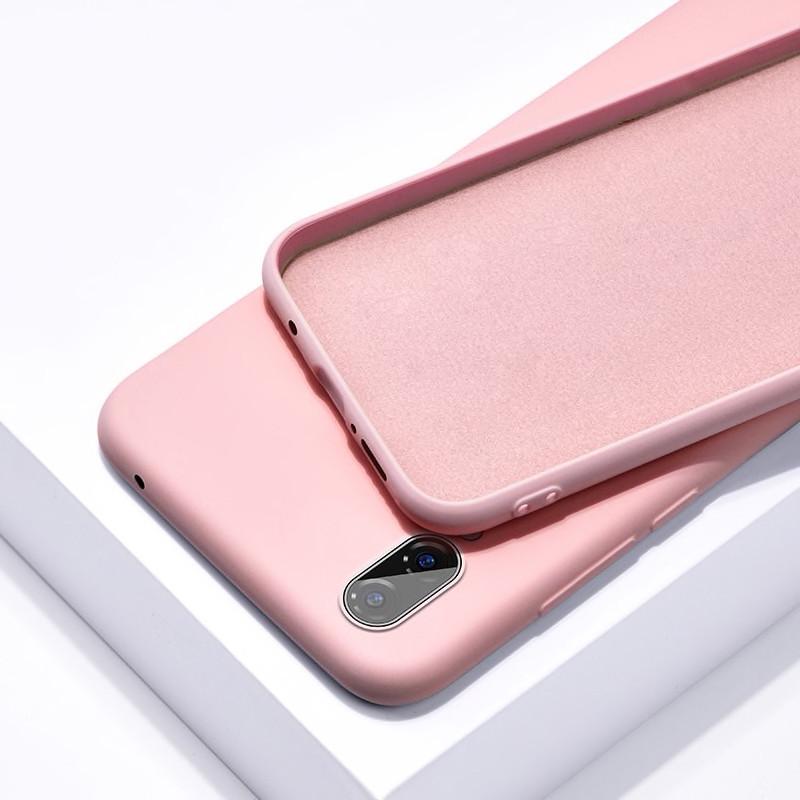 Силиконовый чехол SLIM на Meizu 16X  Nude