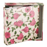 Фотоальбом Chako 10 на 15 см на 200 фото Tea-rose in Box Белый