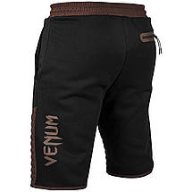 Шорты Venum Laser Classic Cotton Shorts Black Brown, фото 2