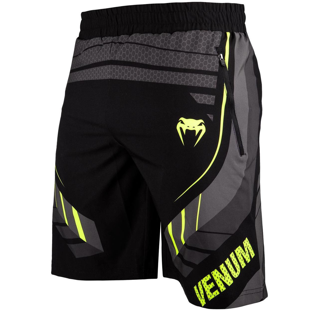 Шорты Venum Technical 2.0 Fitness Short Black Yellow