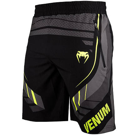 Шорты Venum Technical 2.0 Fitness Short Black Yellow, фото 2
