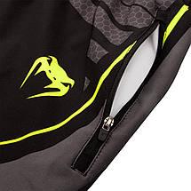 Шорты Venum Technical 2.0 Fitness Short Black Yellow, фото 3