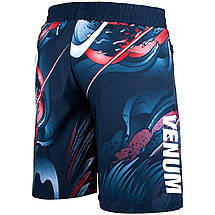 Шорты Venum Rooster Fitness Short Navy, фото 2