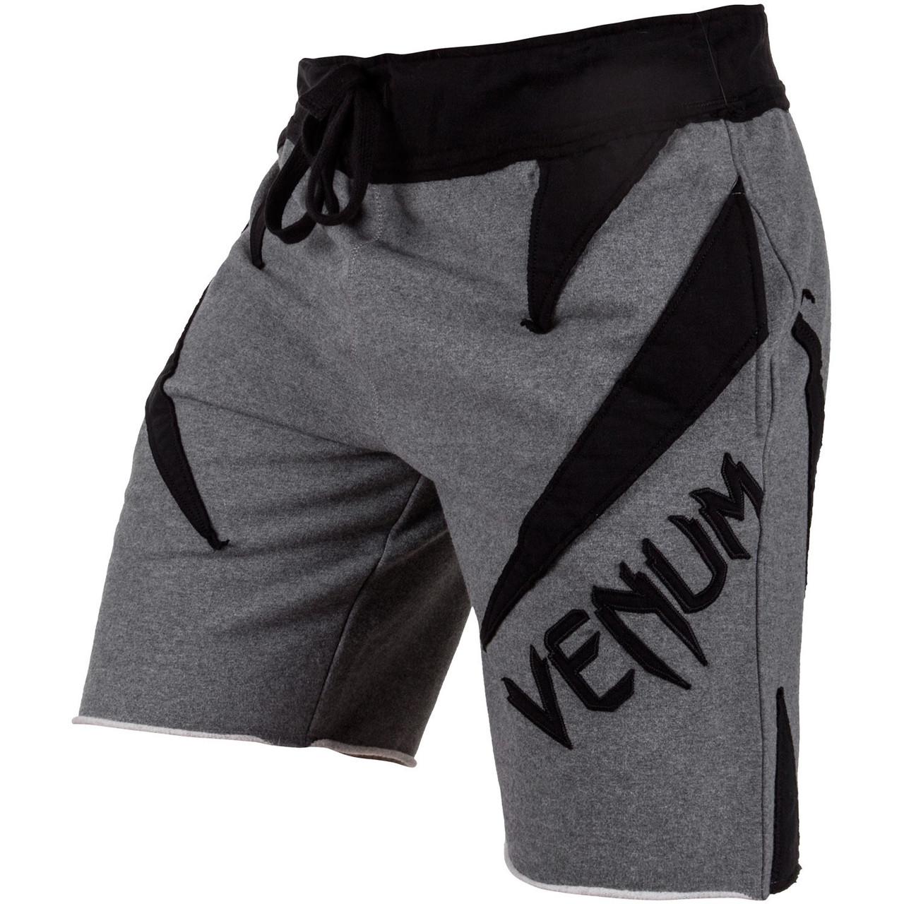 Шорты Venum Jaws Cotton Training Shorts Grey Black