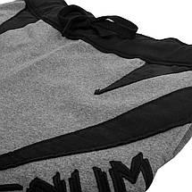 Шорты Venum Jaws Cotton Training Shorts Grey Black, фото 3