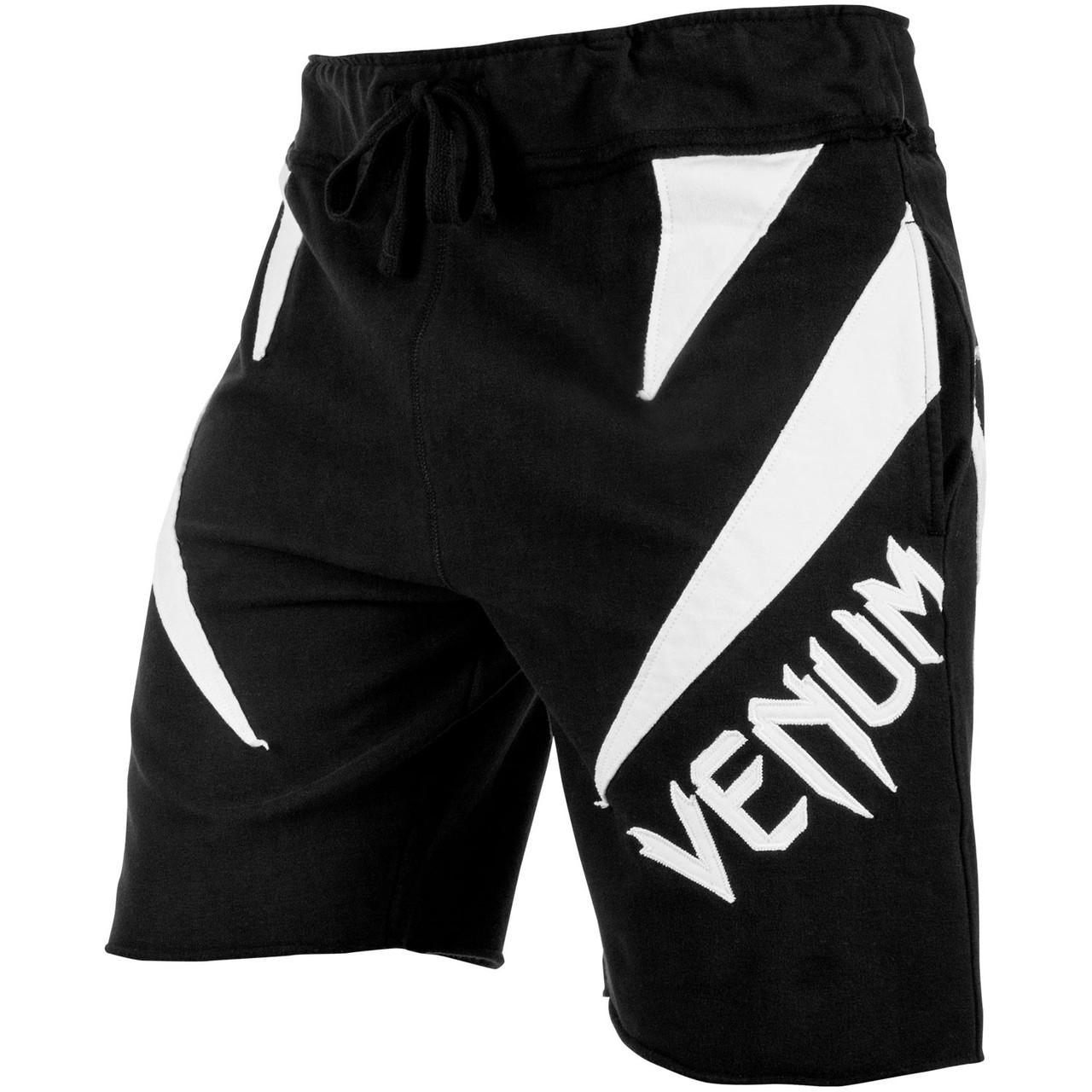 Шорты Venum Jaws Cotton Training Shorts Black White