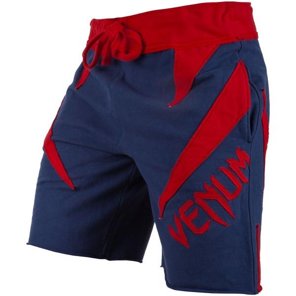 Шорты Venum Jaws Cotton Training Shorts Navy Red