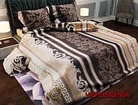 """Двуспальный набор постельного белья 180*220 из Бязи """"Gold"""" №1506688 Черешенка™"""