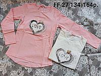 Реглан для девочек  S&D 134-164 р.р.