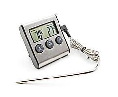 Цифровой термометр с выносным датчиком до 250 градусов Digital Cooking Thermometer