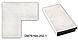 Зеркало настенное в раме Factura Snow-white pattern 60х174 см белое, фото 2