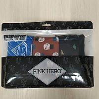 Комплект (3 шт) мужского нижнего белья Pink Hero Размер XXL (модель XXL6)