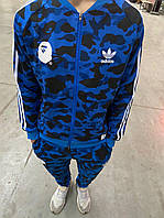 Костюм мужской спортивный темно-синий