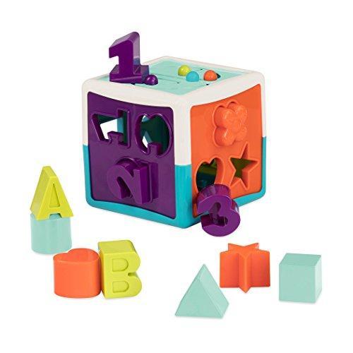 Развивающая игрушка - сортер Battat Умный Куб (12 форм) Battat Shape Sorter Cube Bundle