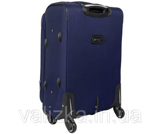 Текстильный чемодан малый для ручной клади синий Golden Horse 1220, фото 2