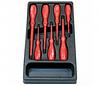 Набор электроотверток 7 шт.: шлицевые 4 шт., Philips 3 шт. в ложементе    AmPro
