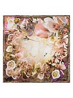 Шикарный платок женский из 100% шелк в 5ти цветах E03-7206 Eleganzza, фото 1