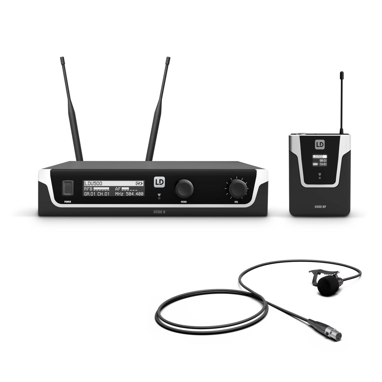 Радиосистема с инструментальный микрофоном LD Systems U500BPW