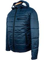 """Мужская куртка""""Tommy"""" с капюшоном синего цвета.Новая коллекция!"""