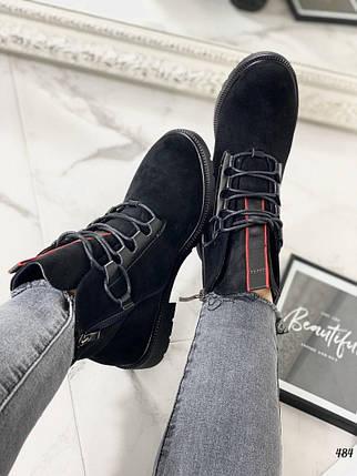 Женские ботинки на низком ходу, фото 2