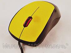 Мышь компьютерная проводная USB C39 (цвета в ассортименте), фото 2