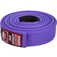 Пояс для кимоно Venum BJJ Belt - Purple (EU-VENUM-0118)