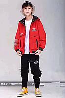 Куртка двухсторонняя демисезонная для мальчиков (150-170), фото 1