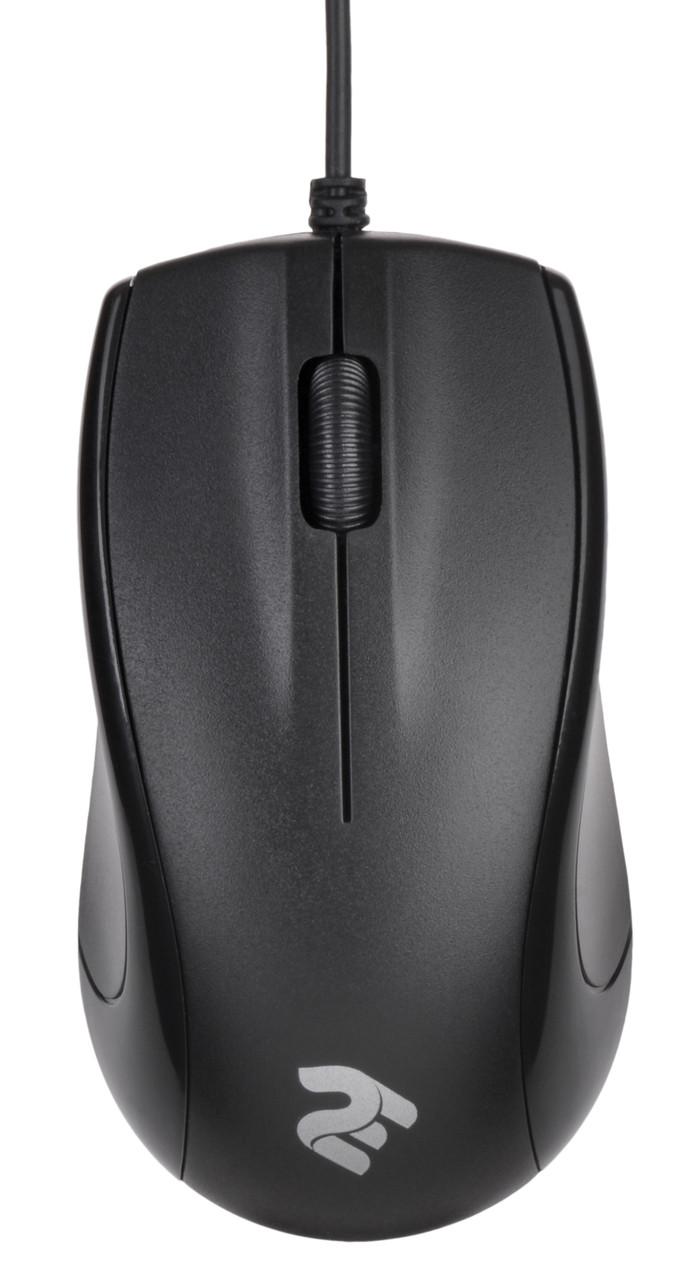 Мышка 2E MF102 USB 1000 dpi Черный (2E-MF102UB)