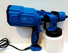 Краскопульт электрический Kraissmann 550 FS 3 ( в комплекте 3 сопла 1,8мм, 2,5мм, 3мм)