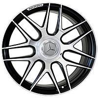 Литые диски Replica Mercedes (MR251) R19 W9.5 PCD5x112 ET39 DIA66.6 (MBL)