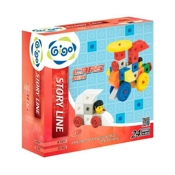 Конструктор Gigo Машины - Мини (7417)