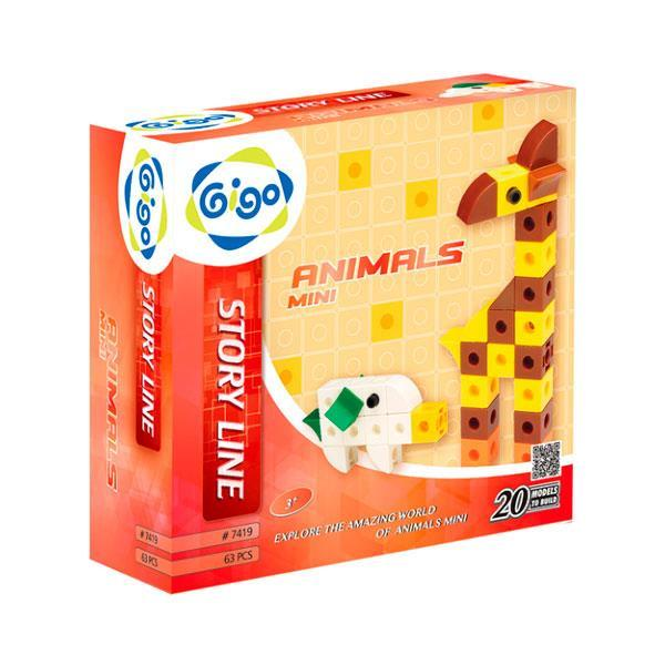 Конструктор Gigo Животные - Мини (7419)