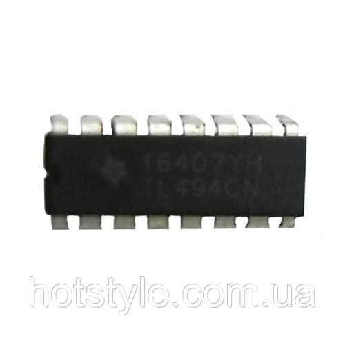 Чип TL494CN DIP16, ШИМ-контроллер импульсный