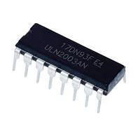 Чип ULN2003AN ULN2003 DIP16, Транзисторная сборка Дарлингтона 50В 500мА