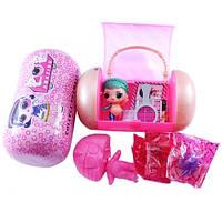 Кукла игрушка сюрприз LOL ЛОЛ в музыкальной капсуле, девочка