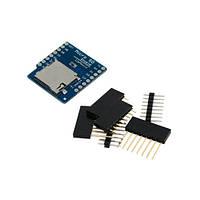 Модуль MicroSD слот карт для Wemos D1, D1 mini
