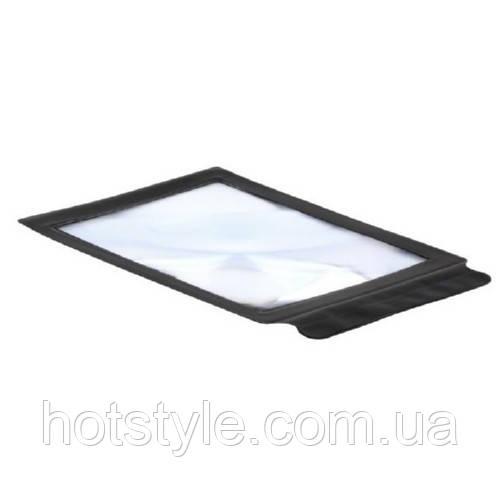 Увеличительное стекло гибкое переносное, лупа A4