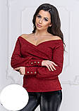 Модная женская нарядная кофточка,размеры:42-44,46-48,50-52., фото 6
