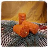 Набір воскових свічок з кольорової вощини, фото 3