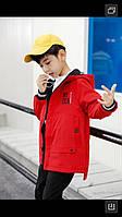 Куртка двухсторонняя демисезонная для мальчиков от 3 до 6 лет, фото 1
