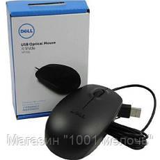 Мышка компьютерная проводная DELL 111 USB, фото 3