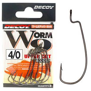 Крючок Офсетный Decoy Worm9 Upper Cut #4/0 (6 шт/уп)