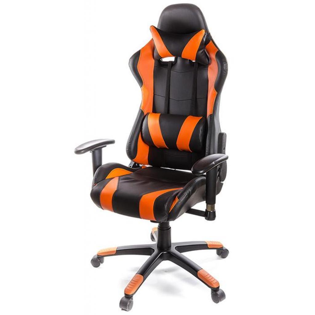 Кресло игровое АКЛАС Хорнет PL RL Оранжевое (06155)