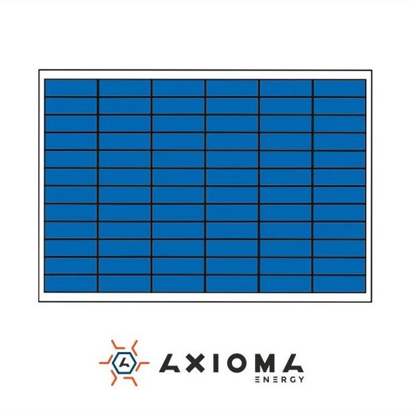 Солнечная батарея 110Вт поликристаллическая AX-110P AXIOMA energy