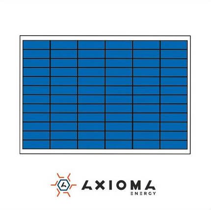 Солнечная батарея 110Вт поликристаллическая AX-110P AXIOMA energy, фото 2