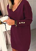 Модное женское платье с ангоры,размеры:42-46,48-52., фото 1
