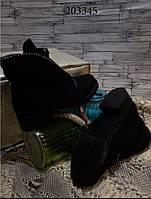 Распродажа!!! Женские ботинки 36-41 размеры (зима) эко замш в наличии