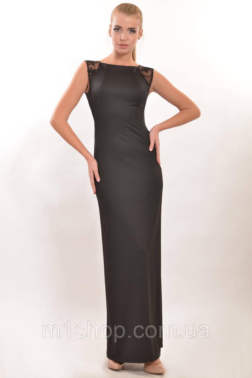 Женское коктейльное платье-макси по фигуре (Венеция ri)